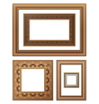 framing vector image vector image
