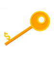 Key to Success vector image vector image