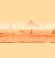 martian rocks game background vector image vector image