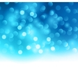 merry christmas blue light background vector image vector image
