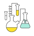 Research and Science Harmony series icons vector image vector image