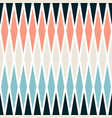 seamless pastel colors geometrical rhombus pattern vector image