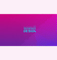 abstract halftone and dots texture on gradient vector image vector image