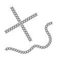 chain design vector image vector image