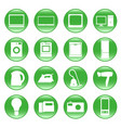 electric devices vector image