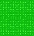 green dot seamless pattern vector image vector image