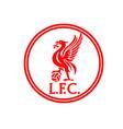Liverpool logo design circle concept for supporter