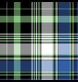 pixel tartan seamless pattern vector image vector image