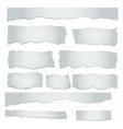 scrap paper concept vector image vector image