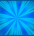 abstract blue comic background vector image