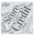 boost credit score Word Cloud Concept vector image vector image