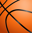 Closeup of a basketball vector | Price: 3 Credits (USD $3)
