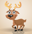 Cute smiling baby northern deer vector image vector image