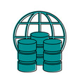 data center or web hosting icon image vector image vector image