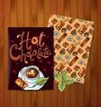 hot cokolate vector image vector image