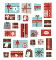 advent calendarCollection of colorful vector image