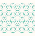 linear geometric seamless pattern hexagonal grid vector image vector image