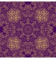 mandala swirl seamless background vector image vector image