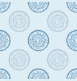 san jose seamless pattern vector image vector image