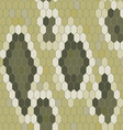 snake skin texture seamless pattern python vector image vector image