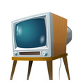 television set vector image