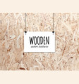 wooden texture for your design trace of wooden vector image vector image