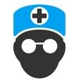 Doctor Head Icon vector image vector image