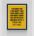 inspirational and motivational quotes poster vector image vector image