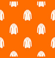jacket pattern seamless vector image vector image