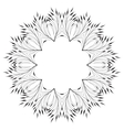 Leaves Ornament Pattern vector image vector image