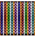 pattern on bedouin fabric sadu3 vector image