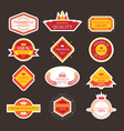 Premium Quality Guarantee Labels and Badges vector image vector image