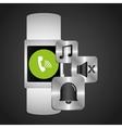 Smart watch wearable technology call music alarm