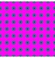 Flowers geometric seamless pattern 1910 vector image