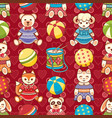 childrens toy animals vector image vector image