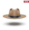 Classic Men Hat vector image vector image