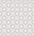 geometric pattern with squares and circless vector image vector image