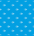 halftone rigth arrow pattern seamless blue vector image