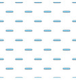 light blue rectangular button pattern vector image vector image