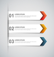 paper infographic14 vector image vector image