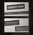 Premium business Card Set EPS10