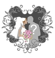 Wedding couple 10 vector image vector image