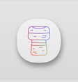 wine cork app icon vector image