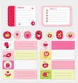 set of baby cards and templates vector image