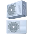 Air conditioner split system vector image