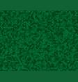 banner green random circle mosaic dots vector image