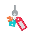 Key from House in Flat Design vector image vector image