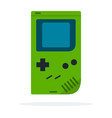 mobile video game icon flat isolated vector image vector image