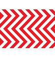 Red and white arrows seamless pattern vector image vector image
