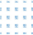 server icon pattern seamless white background vector image vector image